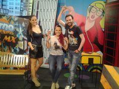 Camila Wills, Sylvana Gómez y Camilo Guzmán presentadores del Cuaderno MX