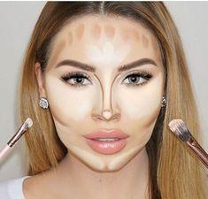 Maquillaje maquillaje contouring, make up y skønhedstip. Makeup Inspo, Makeup Inspiration, Makeup Tips, Beauty Makeup, Eye Makeup, Hair Makeup, Flawless Face Makeup, Beauty Tips, Insta Makeup