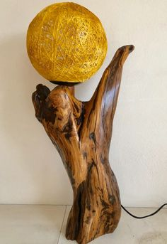 Table Lamp, Lighting, Wood, Home Decor, Rustic Lamps, Lamp Table, Decoration Home, Light Fixtures, Woodwind Instrument