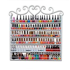 Nail paint organizer 4k pictures 4k pictures full hq wallpaper unbelievable nail polish storage ideas slodive nail polish rack storage my thrift store picture frame nail polish rack thrift shop and crafts the do it solutioingenieria Choice Image