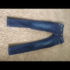 Miss Me Signature Skinny Jeans- ON HOLD My FAVORITE jeans in the world!!!! Unfortunately I am selling because I need to size up. They are in perfect condition. They have stretch to them and are very soft. Medium wash in color. Best jeans ever!!! Regular length. Miss Me Jeans Skinny