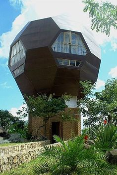 The Football House was built by Dutch Architect Jan Sonkie and is his primary…