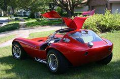 Chevy Cheetah  Replica Vintage Racecar Corvette