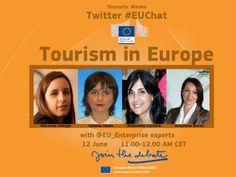 #EUChat on Tourism https://plus.google.com/b/118135535337532829792/+EuropeanCommission/posts/GkEHaVnApTd
