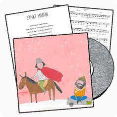 Mit diesem Lied wird die Geschichte rund um Sankt Martin und den Bettler erzählt. Achtet auf die Strophenanfänge, damit der Text klar ist.