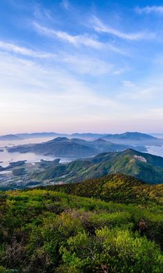 Geumosan Mountain in Hadong // Hiking in South Korea