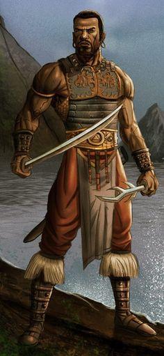 m Cleric med Armor Sword Symbol lake East of the Eastern Border story Fantasy Warrior, Fantasy Rpg, Medieval Fantasy, Black Characters, Dnd Characters, Fantasy Characters, Fantasy Inspiration, Character Inspiration, Character Design