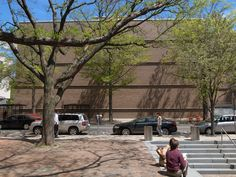 Yale University Art Gallery. New Haven, Connecticut.  1951 - 4. Louis Kahn.
