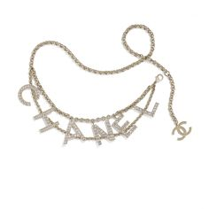 Discover the latest collection of CHANEL Belts. Explore the full range of Fashion Belts and find your favorite pieces on the CHANEL website. Chanel Jewelry, Luxury Jewelry, Chanel Necklace, Jewelry Accessories, Fashion Accessories, Jewelry Design, Chanel Store, Chanel Chanel, Sparkly Belts