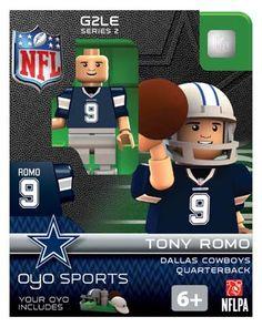 #9 Tony Romo Dallas Cowboys Quarterback-Limited Edition OYO minifigure