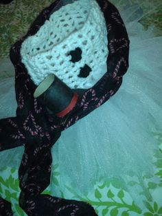 Frosty the Snowman tutu dress