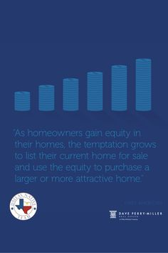 Homeowners across the country have seen tremendous equity gains in the last year 💰 In today's sellers' market 😎 there's a real opportunity to put that equity toward moving up to your dream home 📲 DM us to learn more about how to best leverage your equity. Real Estate News, Dallas, Opportunity, Dreaming Of You, Learning, Country, Rural Area, Studying, Teaching