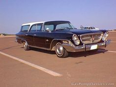 '62 Chrysler New Yorker station wagon