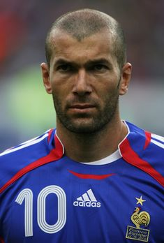 Zinedine Yazid Zidane tough tackling and headbutt  specialist