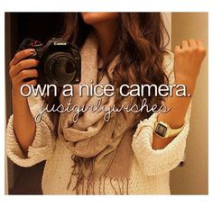 Just girly wishes❤ http://minivideocam.com/how-to-choose-the-best-camera-for-youtube/