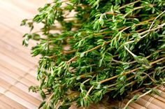 Cooking With Italian Herbs - Thyme  This is from a blog by Jovina Coughlin