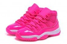 "2017 Air Jordan 11 GS ""Pink Everything"" Pink White Shoes 3640a62b3"