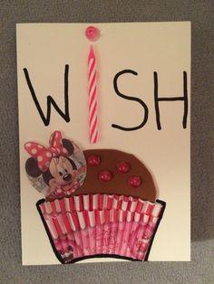 Geburtstagskarte #wish#minni mouse