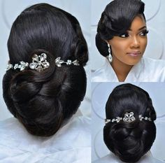 Likes, 15 Comments - Africa's Top Wedding Website ( on. Likes, 15 Prom Hair Updo Elegant, Bridal Hair Updo, Elegant Wedding Hair, Bridal Hair Pins, Bridal Hair And Makeup, Wedding Updo, Wedding Makeup Tips, Wedding Beauty, Dream Wedding