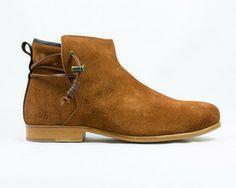 Rosewood Rust Schuhe mit Ledersohle - ekn footwear