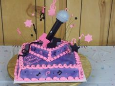 Microphone Cake For Birthday Party Cake4 – Cakes