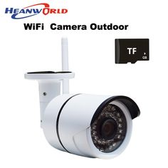 Video Surveillance Heanworld 1080p Ip Camera Wifi Cctv Webcam Wireless Surveillance Security Camera 30led Support Smartphone View Sd Card Slot Cam Fixing Prices According To Quality Of Products