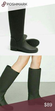 🆕ZARA ZARA Rain Boots US 6.5/EUR 37 Zara Shoes Winter & Rain Boots