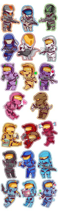 RvB Phone Charms by Synnesai on deviantART