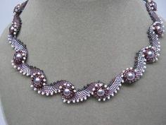 колье ожерелье из бисера схемы