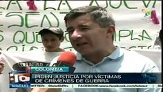 #Colombia: #marcha por #víctimas de crímenes de #Estado
