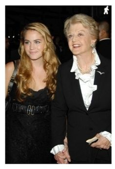 Katherine Shaw (Angela's granddaughter by her son) and Angela Lansbury