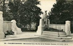 Monument aux Morts de la Grande Guerre (1914-1918). Valenciennes. Built 1924.