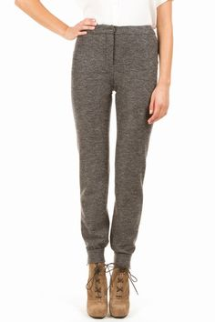Can I get away with wool trousers that have a sweatpant-like cuff in family court?  no?  but they're cacharel?
