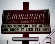 29 Church Signs That Make You Scratch Your Head