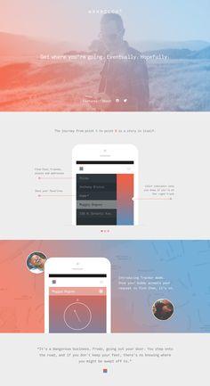 Unique Web Design, Wrmrcldr #WebDesign #Design