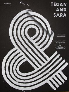 Ampersand. #ampersand #tegan #sara #poster