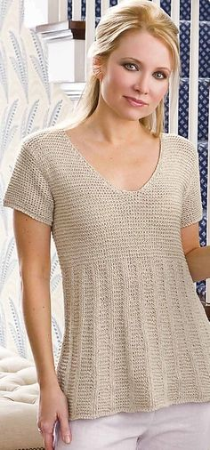 Pretty summer knit! mostly-knitting-and-crochet-too