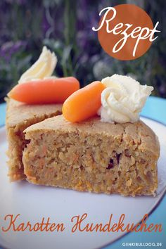 Carrot cake for dogs www. Pumpkin Recipes For Dogs, 7up Pound Cake, Biscuits, Dog Nutrition, Cake Recipes From Scratch, Dog Cakes, Carrot Cake, Food Inspiration, Banana Bread