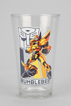 Transformers Pint Glass