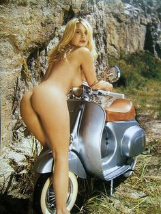 Consider, that Vespa and nude girl sorry