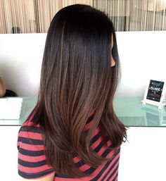 black+to+chocolate+brown+ombre