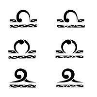 maori libra tattoo