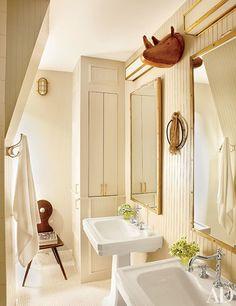 The master bath of Nate Berkus's New York City home   archdigest.com