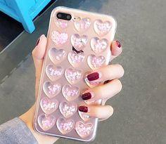 Phone Bags & Cases For Iphone 7 Plus I7 7plus 6 6s Liquid Quicksand Glitter Soft Tpu Case 3d Flower Lollipop Ice Cream Love Cover Skin Luxury 50pcs