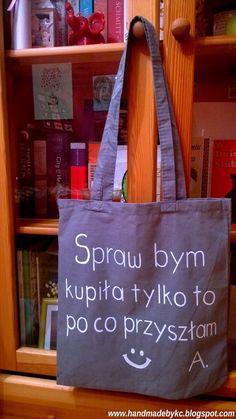 Torba na zakupy i nie tylko ręcznie malowana!  #handmade #diy #bag #torba #shopping