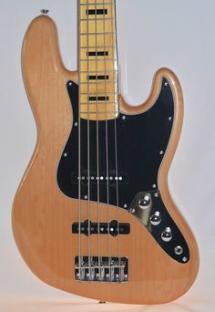 Squier Vintage Modified 70's Jazz Bass V 5-String - Natural - Indian Creek Guitars