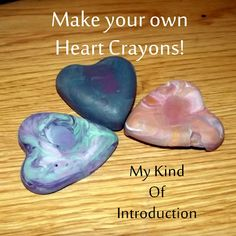 SImple #DIY Heart Crayons - Perfect for adding with a coloring book for gifts, Gave as a party favor, Valentine's and so much more!