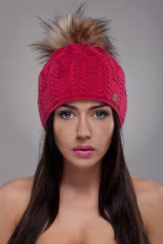 Ulter czapki - Model 19 #ulter #caps #woll #winter #inspiration #fashion