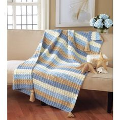Remember someone will eventually end up with these. Beachside Throw