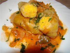 Голубцы постные с кукурузной крупой(Закарпатская кухня) : Вегетарианская и постная кухня